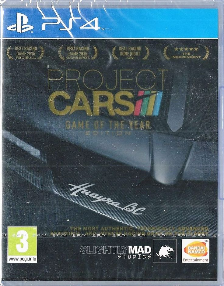 Playstation 4 Project CARS - Game of the Year Edition BRAND NEW
