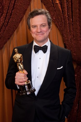 Well deserved Win for Colin! | Colin Firth Best Actor Oscar - 2011 | @ particulaspropias.tumblr.com