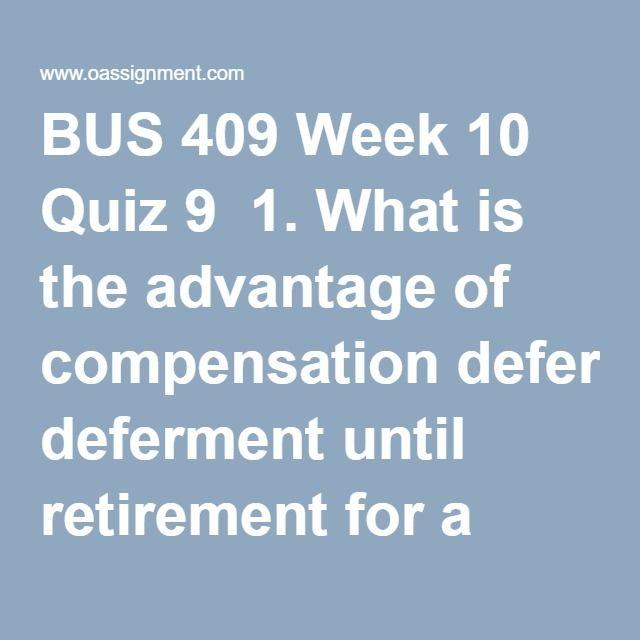 bus 409 compensation management Human resource management minor  bus 310: human resource management: bus 325: global human  training and development: bus 409: compensation management: total.