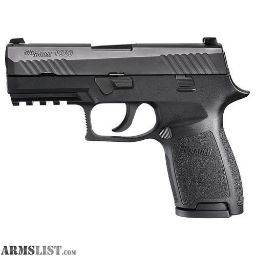 For Sale:  Sig Sauer P320C 45 ACP Sig Night Sights, Black 9 Round