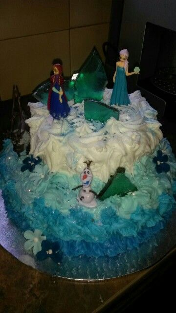 Frozen Cake close-up