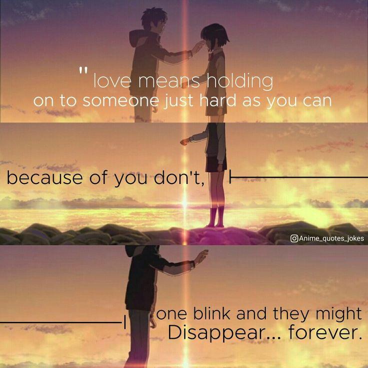 130 Sad Quotes And Sayings: Anime Quotes Anime Quotes Kimi No Wa Your Name