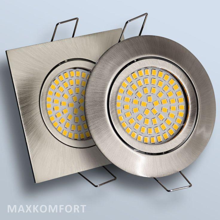 Superb Details zu LED Einbaustrahler Einbauspot Einbauleuchte W Spot Lampe Deckenspot Strahler