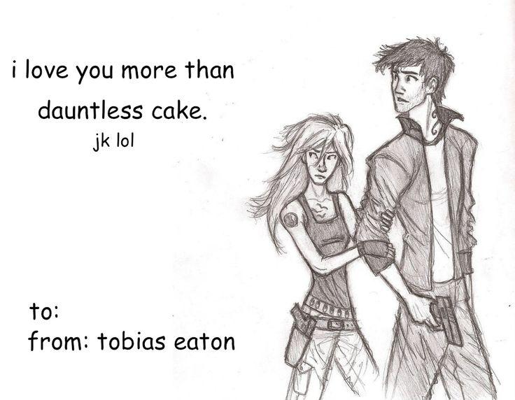 tobiaslovesmydauntlesscake: ~ Divergent Mock Valentines