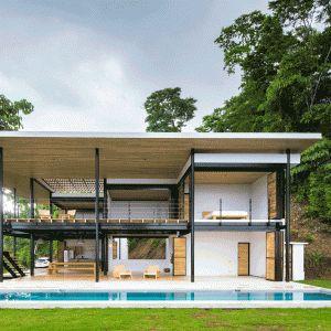 Movable+wooden+walls+front+Benjamin+Garcia+Saxe's+Ocean+Eye+House