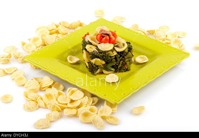 Orecchiette With Turnip Stock Photo, Picture and Royalty Free Image. Pic. 68503670
