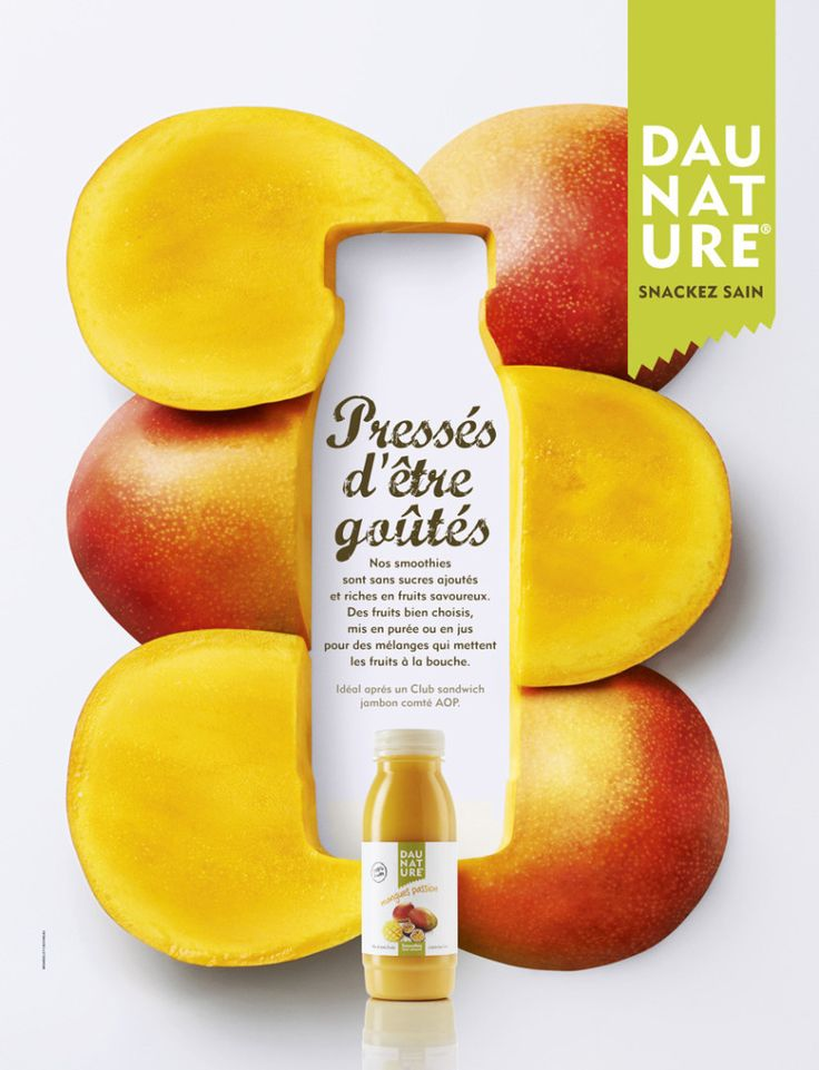 Daunature Juice Ad