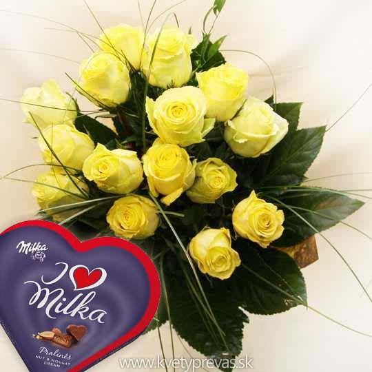 kytica ruží z lásky