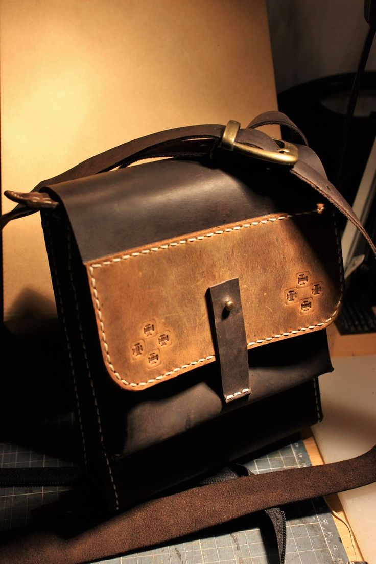 Handmade Leather Bag Made in Cluj Napoca Romania