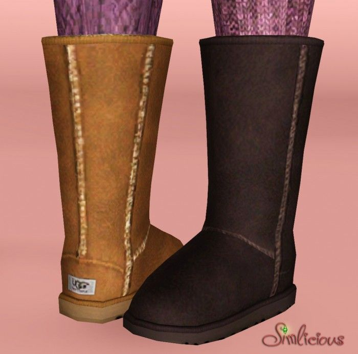 Ugg boots classic tall by Simlicious - Sims 3 Downloads CC Caboodle-Want And Bout To Get!!!