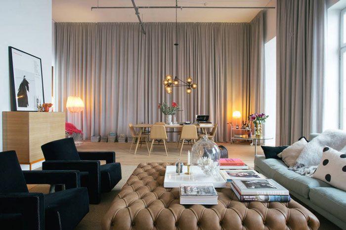 Stylish living at an old leather factory near Stockholm - NordicDesign