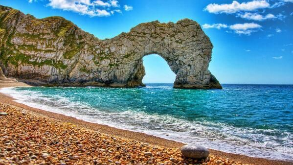 The jurassic coast England