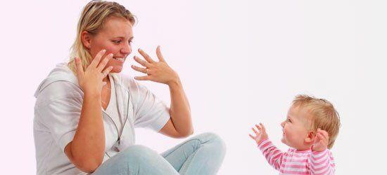 baby tegnspråk