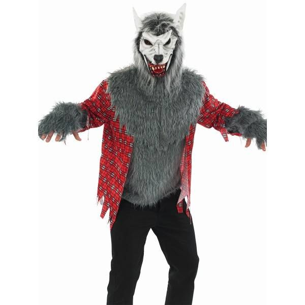 Our new #werewolf #costume is an excellent choice for #Halloween and you're sure to scare a few people with it.