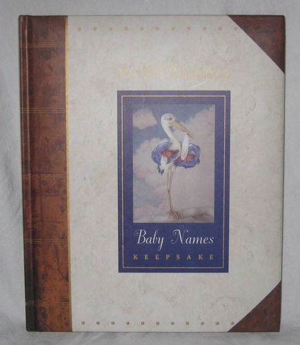 BABY NAMES Keepsake BOOK Famous Artist ANNE GEDDES -NEW- Hardcover‏ (Great GIFT)
