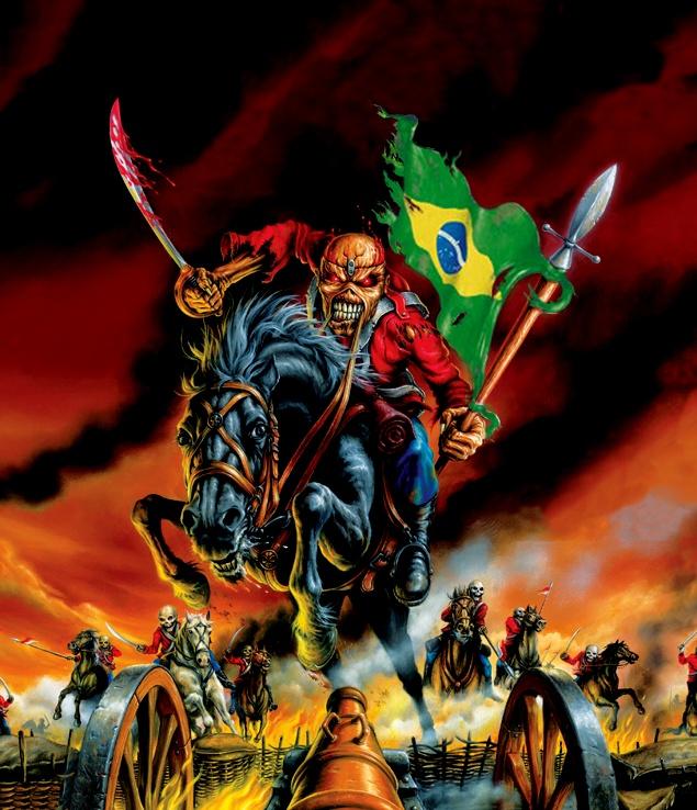 Maiden England Tour: shows em São Paulo e Curitiba confirmados! - IRON MAIDEN 666 - BRASIL