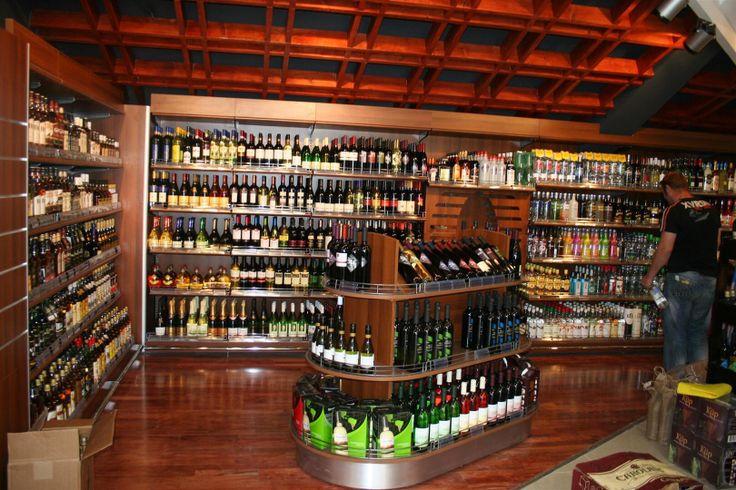 alcohol store design