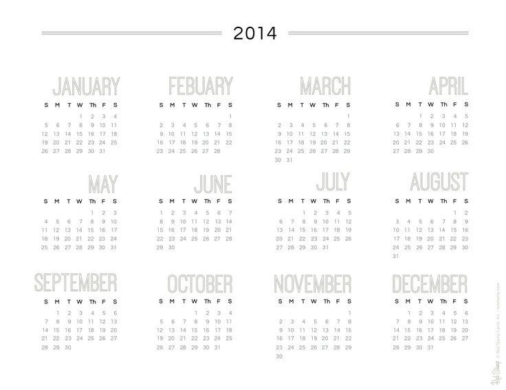 The 25+ best Calendar 2014 ideas on Pinterest | Calendar design ...