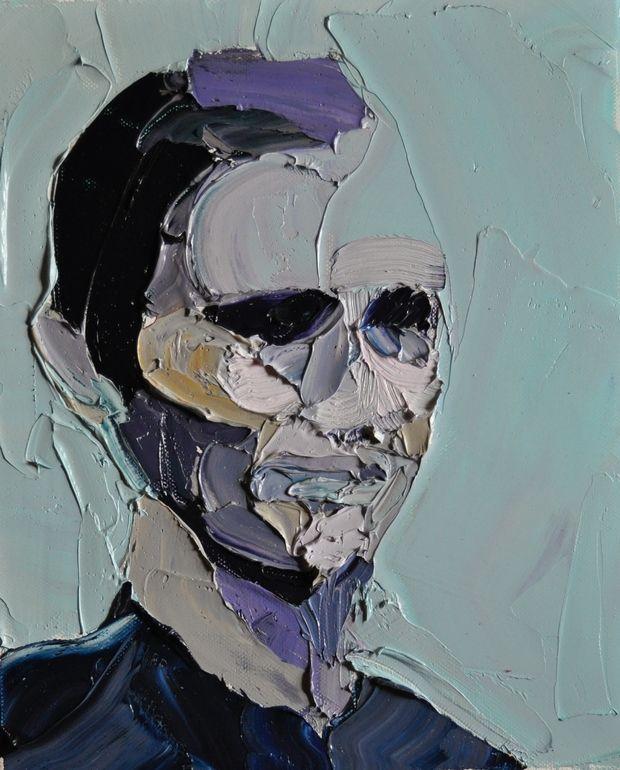 "Saatchi Online Artist: Clara Adolphs; Oil, Painting ""..."" Texture loveee"