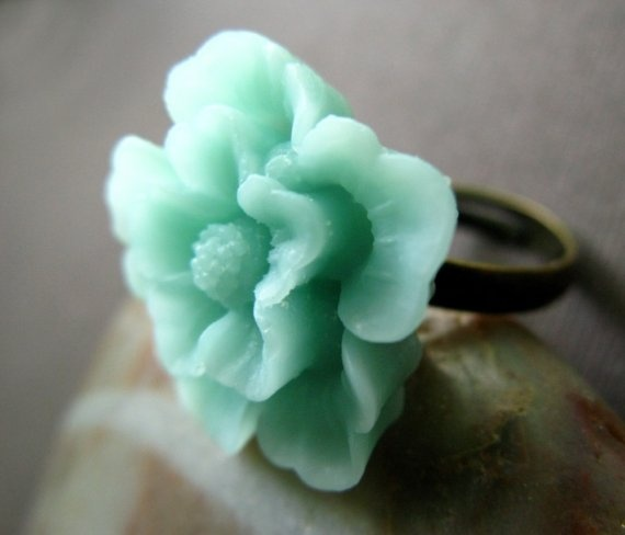 Sakura flower ring.