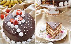 """Все любители кофе или торта """"Опера"""" сюда!;)Очень-очень вкусный торт....был:)...т.к. остались только фотки.)) БЕЗЕ: 6 белков (3 Х 2 белка) 1,5 ст. сахара (3 Х 0,5ст.)…"""