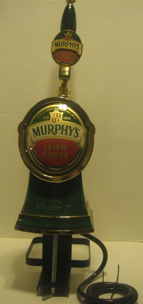 Murphys Beer Engine Brass Faucet & Tap Handle Made By Banner EQUIP In U.S.A.
