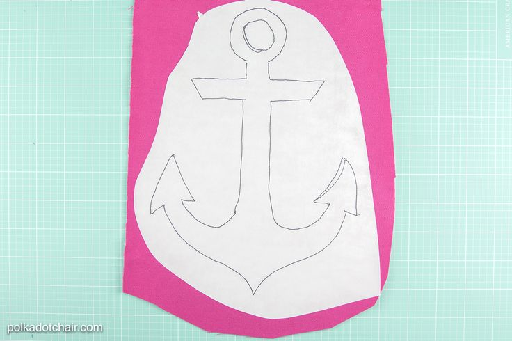 Learn how to make outdoor pillow covers to recover existing outdoor pillows. Stitch up some cute outdoor pillows with anchor applique added.