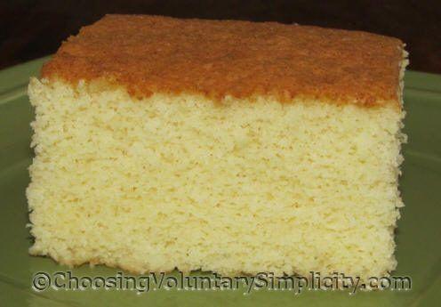 Lightning Cake — A Quick & Easy Yellow Cake Recipe