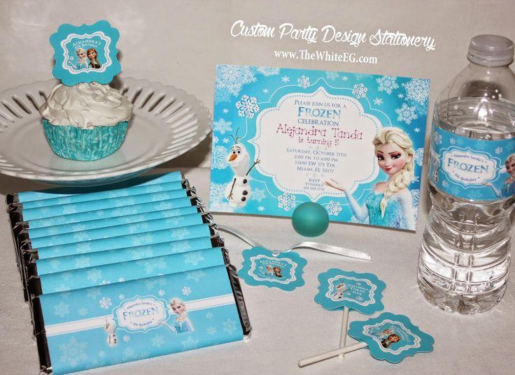 DISNEY's FROZEN Theme Birthday Party Ideas + FREE Printable Thank You Tags and more! ~ Kroma Design Studio   Today's Party Ideas
