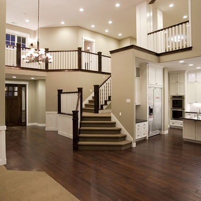 open floor plan staircase - Google Search