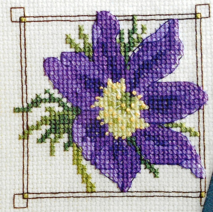 Lesley Teare FLOWER CARDS - British Counted Cross Stitch Pattern Chart - Great Britain. $4.75, via Etsy.