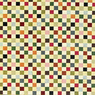 Gobelín Malé Kostky 1 - Bavlna - Polyester - Polyakryl - barevny mix