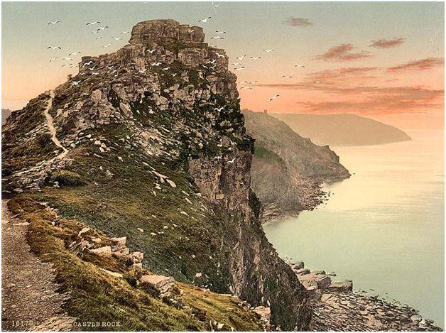 Castle Rock, Lynton & Lynmouth:
