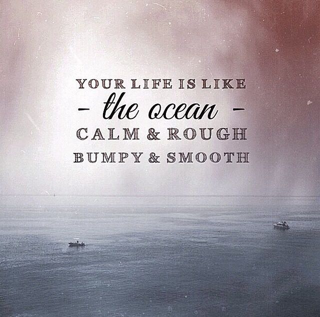 Life Is Like The Ocean Quotes: 17 Best Ocean Life Quotes On Pinterest