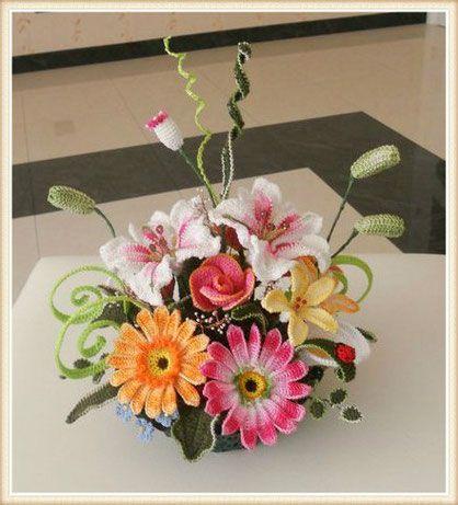 Video Tutorial - Crochet Flowers - Crochet Flowers