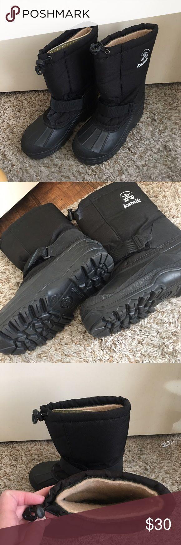 Kamik winter snow boots Kamik black winter snow boots Kamik Shoes Rain & Snow Boots