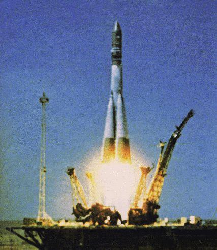 Vostok1 Launch (Yuri Gararin)