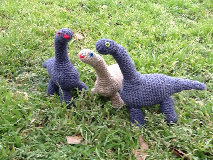 Familia de dinosaurios!!!!!
