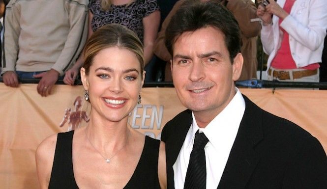 denise richards charlie sheen relationship with martin