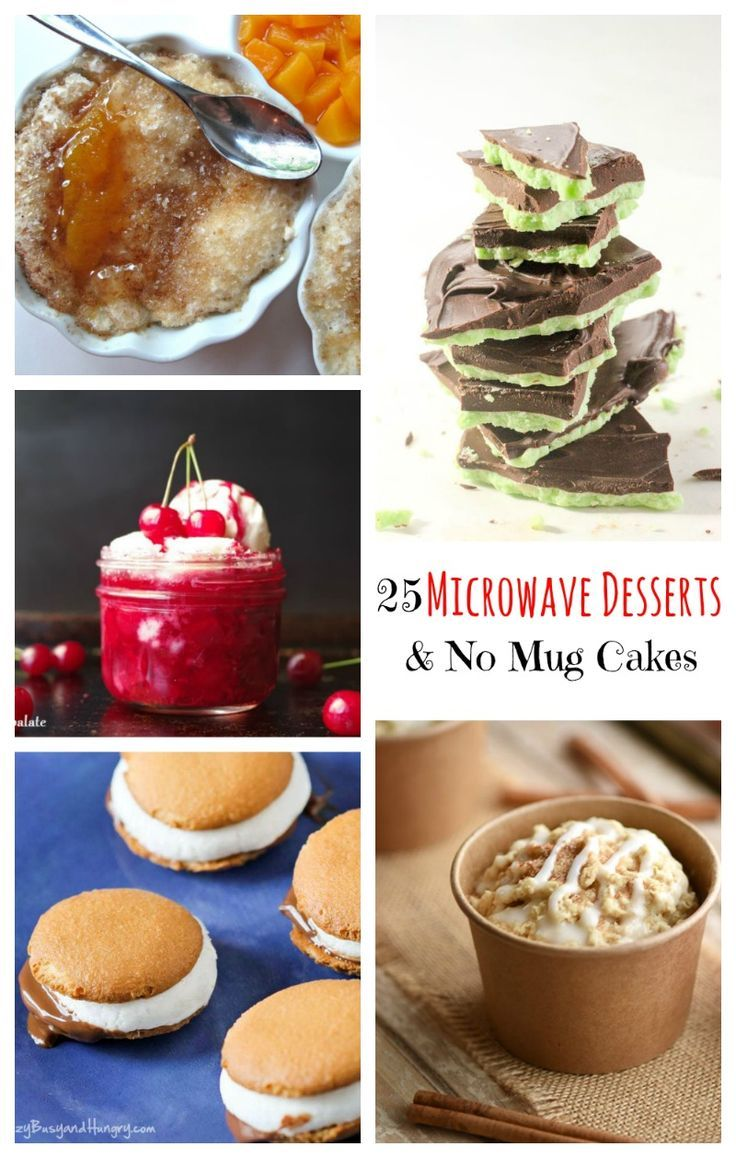 25 Desserts To Make In The Microwave Easy Desserts Desserts
