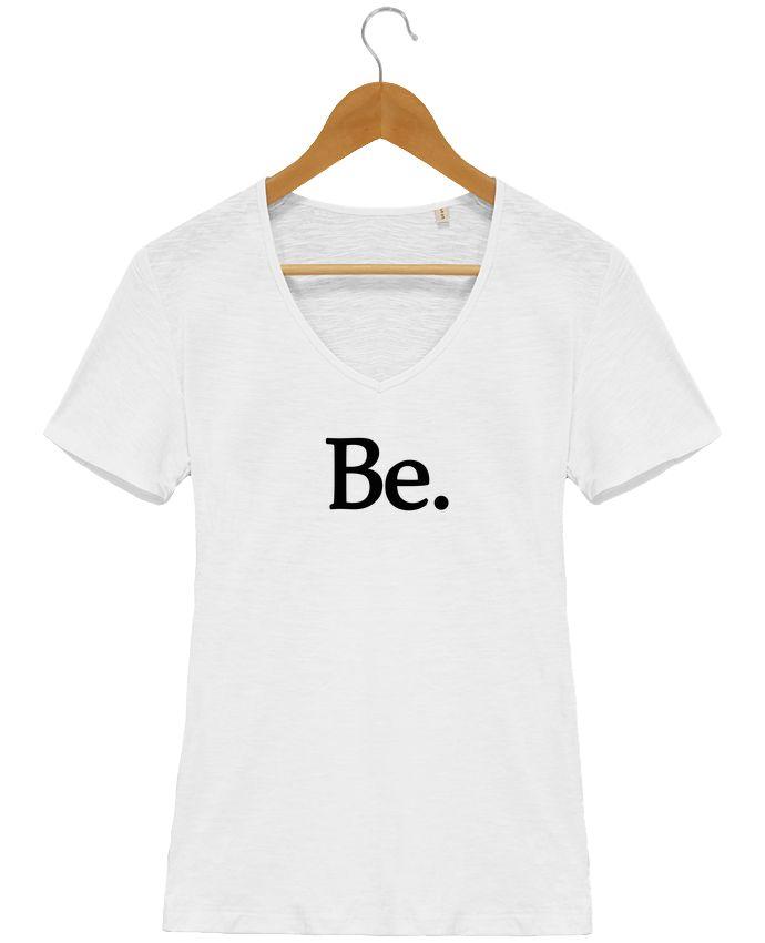 Camiseta Mujer Cuello en V Stella Chooses Be - Les Caprices de Filles  #quotes #frases #moda #trendy #tendencia #camisetas #personalizadas #originales #hombre #mujer