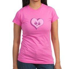 Chibi Candy Heart Shirt  #cafepress #shirts #shirts #apparel #heart #hearts #cartoon #cute #chibi #kawaii #cute #pink