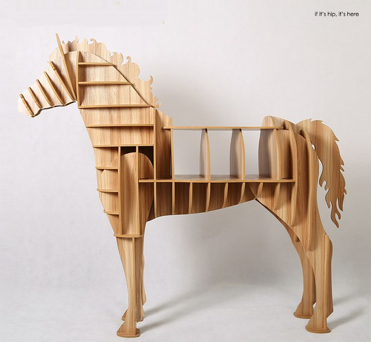 Lovely Amazing Animal Book Cases Like This One Horse Shelving