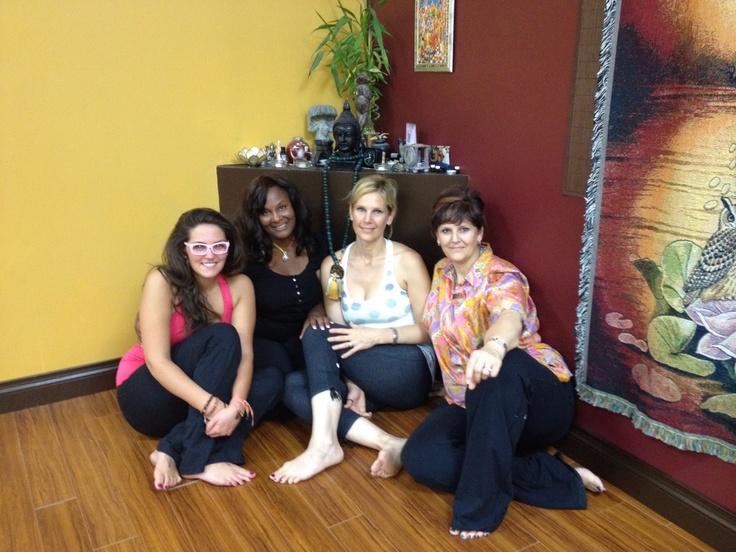 My yoga posse