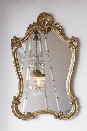 ビンテージ家具・アンティーク家具&照明 Kio > 鏡 > 壁掛けミラー ... ルネサンス様式のミラー