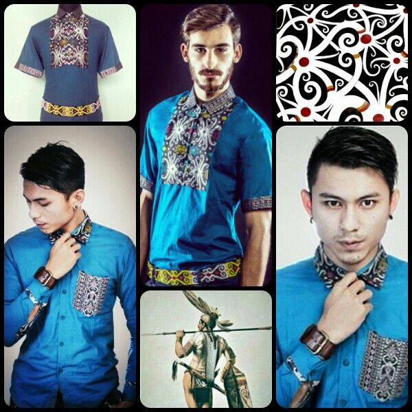 Mavazi menswear , Simplicity of Hidden Dayak, inspiration from Ylang jungle flower in Borneo island