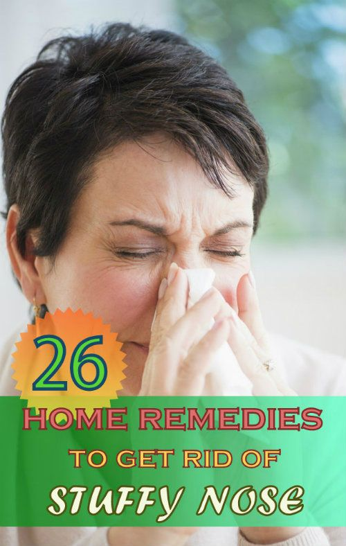 No matter, whatever the reason of your stuffy nose, you can get rid of a stuffy nose fast and naturally if you follow some simple home remedies.