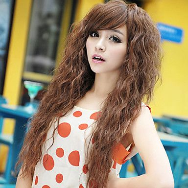 The 25 best perms types ideas on pinterest perms perm rods and new fashion long curly hair repair face fluffy corn curls perm type cosplay wig cad urmus Image collections