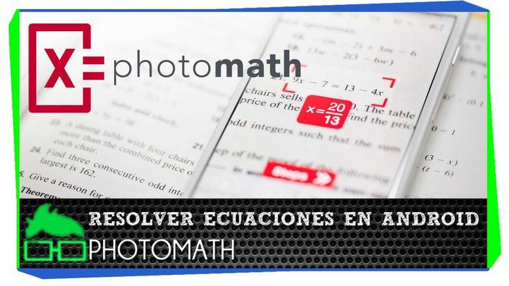 descubre photomath una genial aplicación para resolver ecuaciones en tu android o iphone