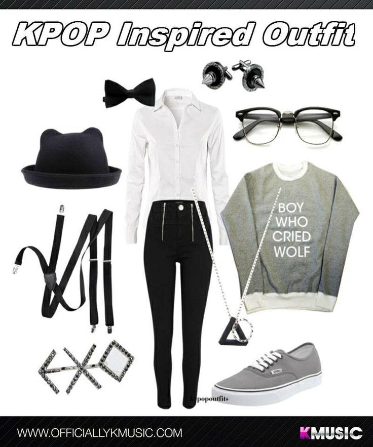 EXO inspired outfit